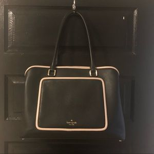 Large Kate Spade Evangelie Ward Place Leather Tote